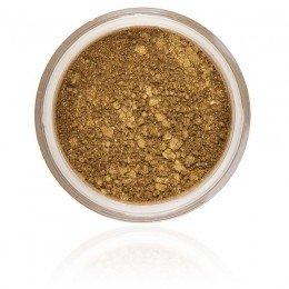 Autumn Ögonskugga, en jordnära med en touch av guld kulör, starkt pigmenterad och vegan samt ej djurtestad.