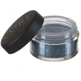 Mörk Blå Glitter Dust