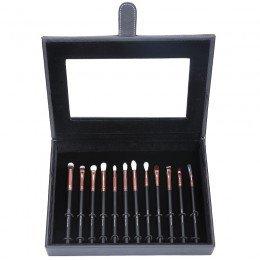 Rose Gold 12 Set Professionel Brushes Box