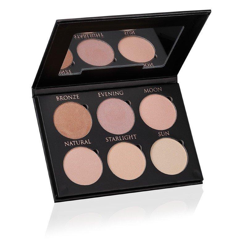 Glow & Strobe Kit Natural - Højpigmenteret highlighter med naturlige ingredienser