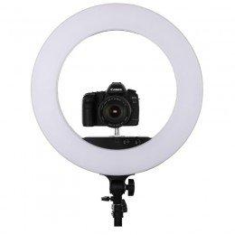 """Ring Light For Makeup - Studio 18"""" - DSLR holder"""