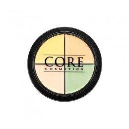Color Corrector Quad Lys - Vegan -   Tone CORE cosmetics