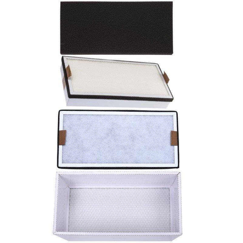 Filterpaket Punkt utsug - Fransar - Naglar - 4 filter