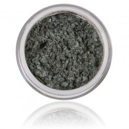 Fern er en grønngrå skinnende mineralsk øyenskygge med 100% rene mineraler, vegan og uten dyreforsøk.