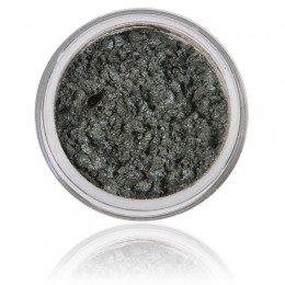 Fern to zielono - szary połyskujący cień mineralny do powiek w 100% z czystych minerałów, wegański i wolny od testów na