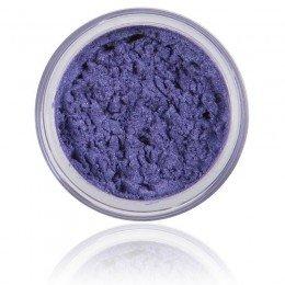 Kamień mineralny cienia do powiek   100% czysty minerał i wegański. Makijaż mineralny, mocny niebieski, lśniący kolor.
