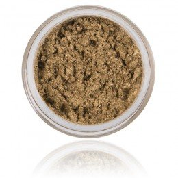 Mineral Eyeshadow Khaki | 100% Pure Mineral & Vegan. Mineral makeup, with a green tone color.