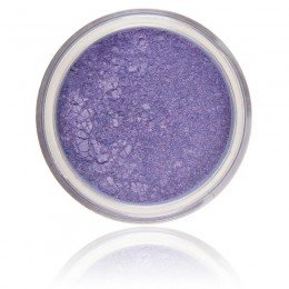 Mineral Eyeshadow Wisteria | 100% Pure Mineral & Vegan. Mineral sminke, lys lilla skinnende farge.