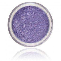 Cień mineralny Wisteria   100% Pure Mineral & Vegan. Makijaż mineralny, jasny fiolet połyskujący kolor.