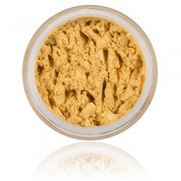 Mineral Eyeshadow Sun Stone | 100% Pure Mineral & Vegan. Mineral make-up, strong yellow / gold shimmery color.