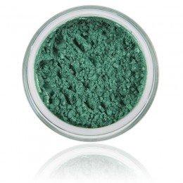 Mineral Eyeshadow Ocean | 100% Pure Mineral & Vegan. Mineral makeup, stærk grøn / skinnende farve.