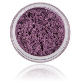 Eyeshadow Lilac of natural mineral ingredients - shimmery luster with strong pigment.