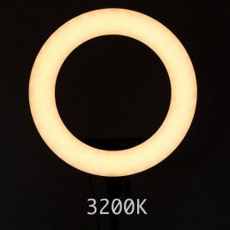 """Ring Light For Makeup - Studio 18"""" 3200K warm light"""
