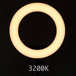 Ring Light lampe for Sminke - Kosmetikk Studio 3200K varm lys
