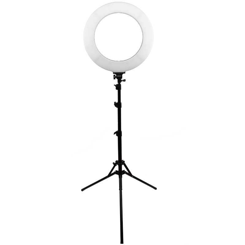 Ring lys for sminke, salonger, selfies, makeup artister, youtubers og studioer for belysning. 60 watt