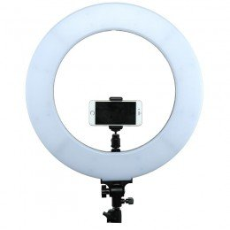 Telephone mounting on Ring light CLR-60W, lower position