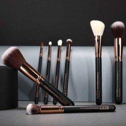 Sminkborstar 8 set, core cosmetics vegan professionella - bäst i test