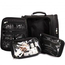 Framsida öppen - väska för make-up artisten, frisören eller stylisten