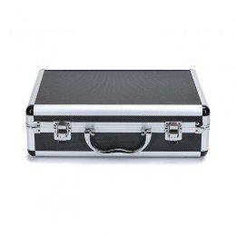Aluminiumspose for airbrushmaskin og tilbehør - lett og holdbar