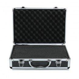 Öppen aluminium väska för make up artisten, stylisten eller hårfrisören. anpassningsbar.